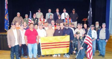 Locals invited to welcome home, thank Vietnam vets