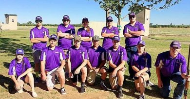 Claybreakers brave heat at state championships
