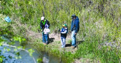Junior Fishing Derby will be held Aug. 5