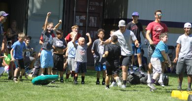 Mini Grizz Camp draws in young athletes