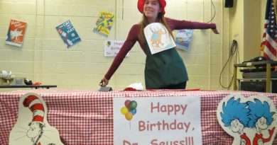 The Lassen Library celebrates Dr. Seuss Day