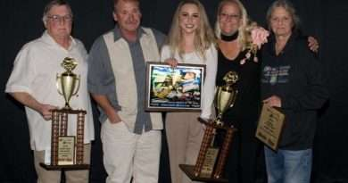 Susanville driver earns Rookie of the Year honors at Silver Dollar Speedway