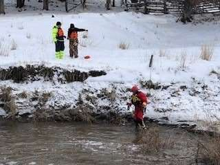 Missing person's body discovered after search and rescue