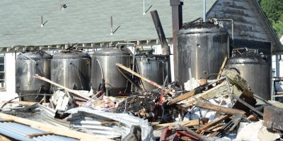 Fire destroys Quincy brewery, crisis center building and more