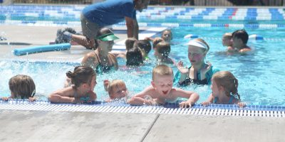 Pool opens with public health department's approval