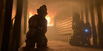 Firefighters get hands-on live fire training