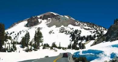 Lassen Volcanic National Park Highway opens to through traffic