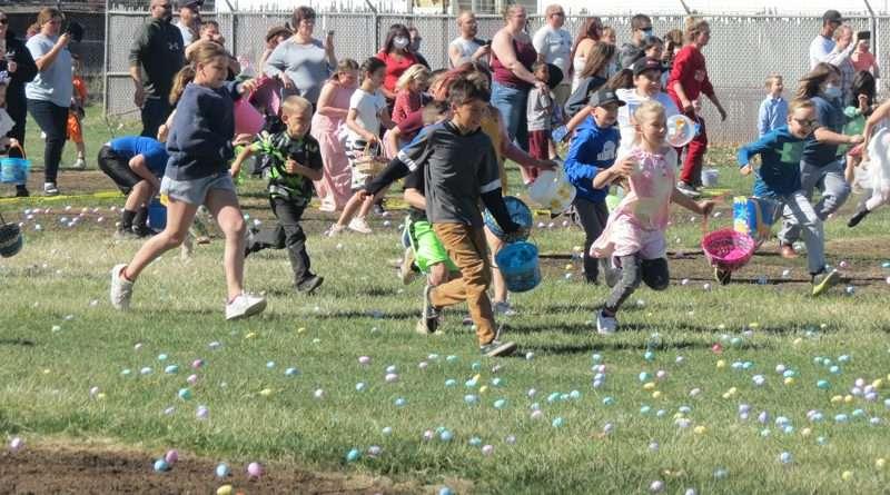 Susanville Community Easter Egg Hunt provides morning of fun