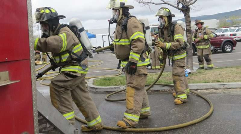 Burn simulator provides hands-on training for firefighters