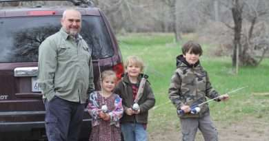Saturday clean up prepares for annual Junior Fishing Derby
