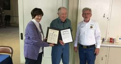 Merkle honored for 50 years in the American Legion