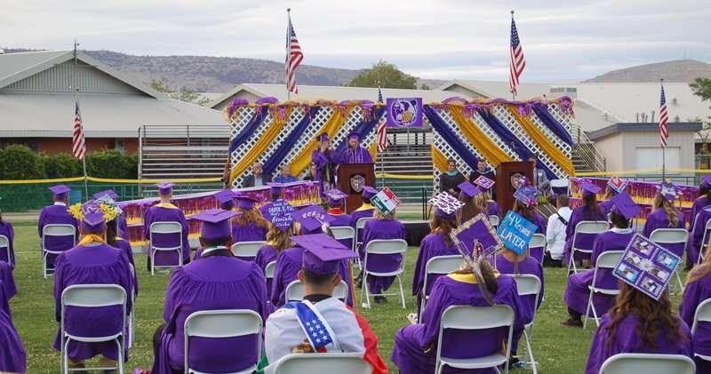 Lassen High School's Class of 2021 celebrates graduation