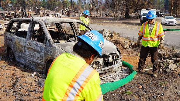 California Conservation Corps helps Greenville recover in wake of Dixie Fire destruction
