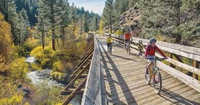 BLM Offering fall colors bike ride and walk on Bizz Johnson Trail; Bus and bike shuttle offered